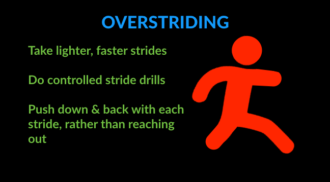 running technique tips for overstriding